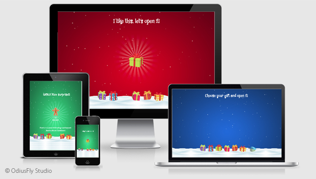 Christmas Card Gifts v1 Download