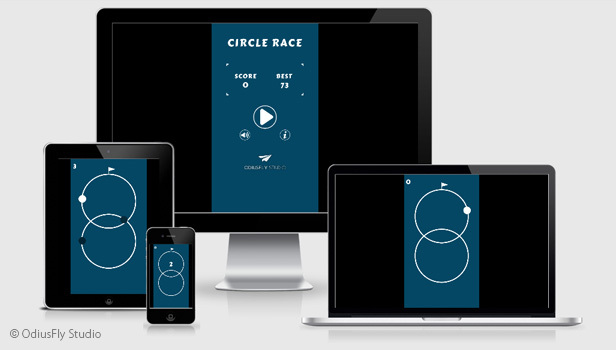 Circle Race - HTML5 Game (Construct 2) - 3