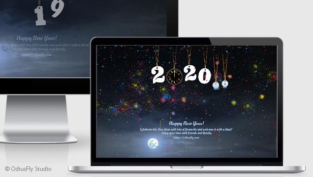 New Year Countdown Card v1 - 4