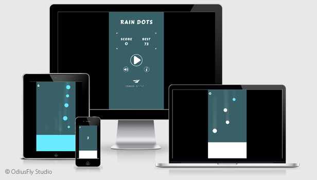 Rain Dots - HTML5 Game (Construct 2) - 3